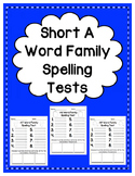 Short A: Spelling Tests