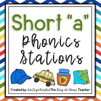 Phonics Stations Short A