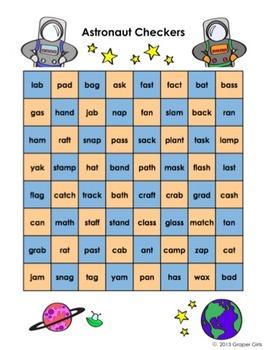 Short A Super Space Readers Unit - Phonemic Awareness, Phonics & Fluency