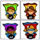 Short A Superhero Pack