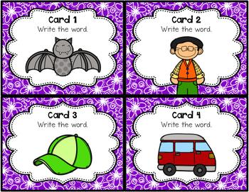 Short A Task Cards