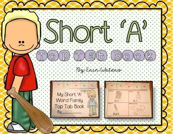 Short 'A' Top Tab Book