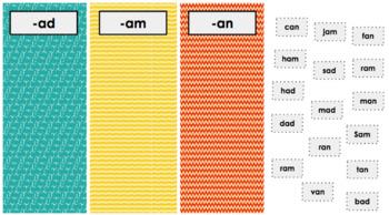 Short A Vowel Activity for Google Slides