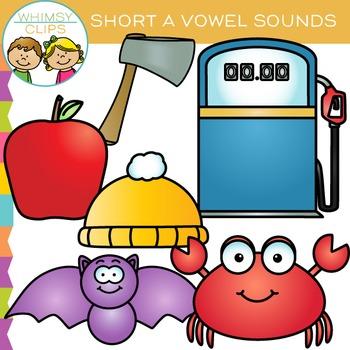 Short A Vowel Clip Art