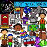 Short Vowel Clipart CVC Words- Short A Clipart {Creative Clips Digital Clipart}