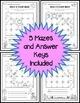Short A Vowel Maze Practice Printables