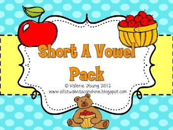 Short A Vowel Pack