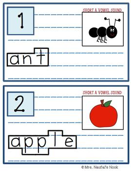 Read the Room Short Vowel A