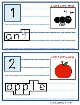 Alphabet Read the Room Short Vowel A