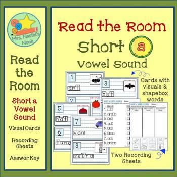 Read the Room Alphabet Short Vowel A
