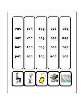 Short A Vowel Workbook
