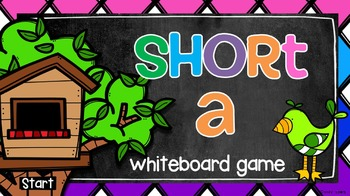 Short A Whiteboard Game