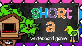 Short A Whiteboard Game
