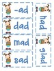 Short A Word Cards