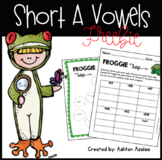 Short A Word Families Game