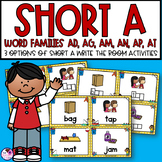Short A Word Families Write the Room