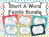 Short A Word Family Bundle