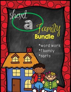Short A Word Family Bundle