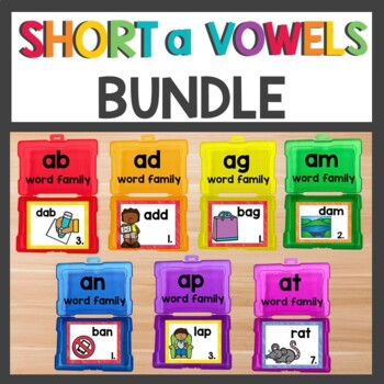 Short a Word Work Bundle