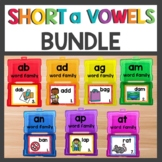 Short a Word Families Bundle