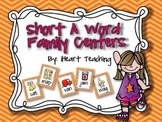 "Short Vowel ""A"" Word Family Centers {Common Core Aligned}"