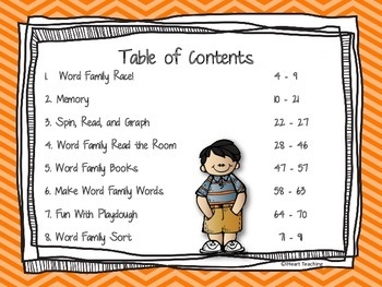 """Short Vowel """"A"""" Word Family Centers {Common Core Aligned}"""