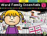 Short A Word Family Fluency Essentials: Intervention and S
