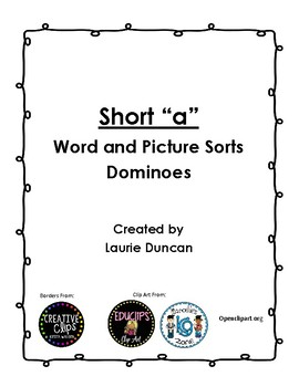 Short A Word Family Pack