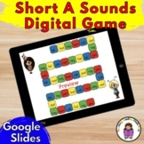 Short A Word Family Phonics Game: Google Apps/Distance Lea