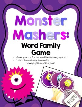 Monster Masher: Short a Word Family Game