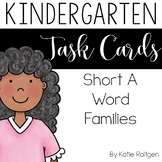 Short A Word Family Task Cards