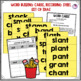 Short A Word Family Word Work and Activities