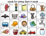 Short A Word List - Writing Center