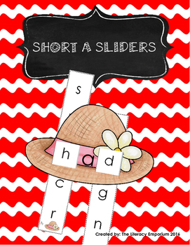 Short A Word Sliders