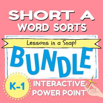 SHORT A WORD SORT BUNDLE
