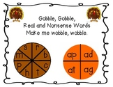 Short A Word Wheel