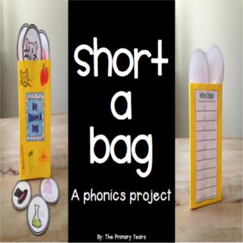 Short A Word Work Craftivity - A Phonics Project