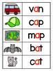 Short A Word Work & Fluency