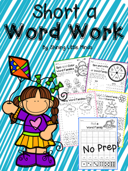 Short-A Word Work No Prep!