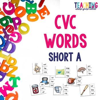 Short A CVC Words