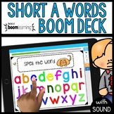 Short A Words BOOM CARDS