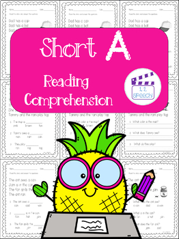 Short A Words Reading Comprehension