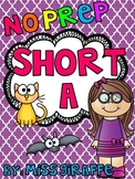 Short A Worksheets and Activities {NO PREP!}