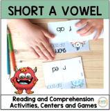 Short A Worksheets Activities and Centers