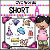 Short A Worksheets ~ CVC Words Activities NO PREP Printables