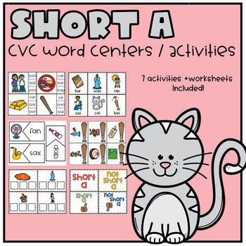 Short A Worksheets and Activities