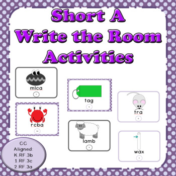 Short A: Write the Room