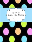 Short A Write-the-Room Activity