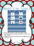 Short I vs. Long I - Picture Sort (Color & BW) - 5 Days!