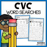 Short Vowels CVC Word Searches
